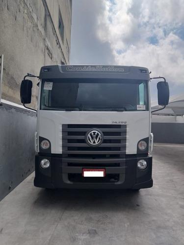vw 24280 constellation 6x2 ano 19/20 diesel e5
