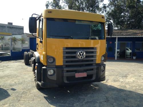 vw 24280 constellation truck oportunidade 2012
