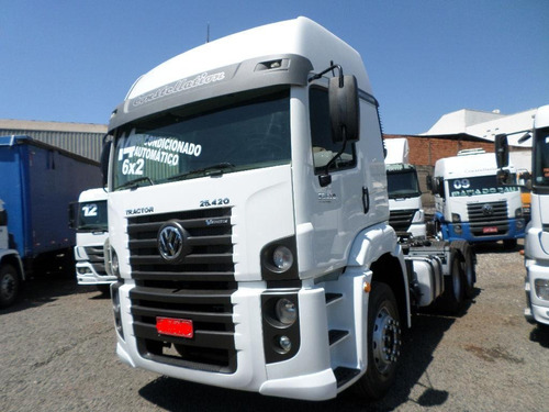 vw 25 420 6x2 aut 2014  vw 25 420 constellation  fh 440 460