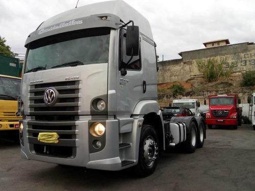 vw 25420 constellation truck 6x2  aútomático com ar 14/14