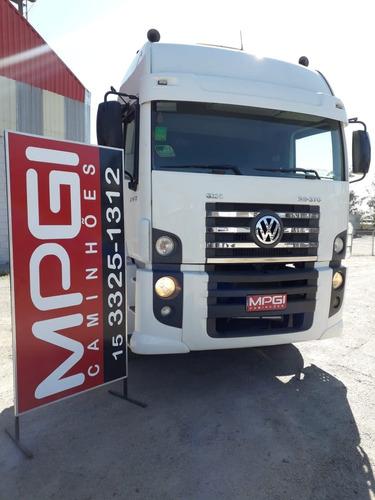 vw 26370 6x4 2011 teto alto motor novo! apenas r$100.000