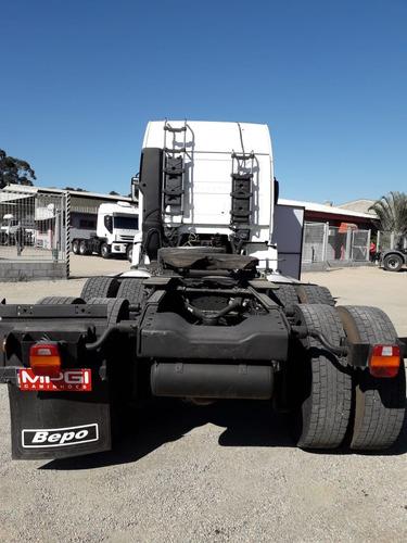 vw 26370 6x4 2011 teto alto motor novo! r$100.000