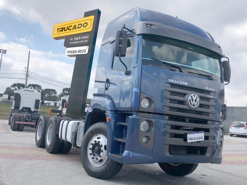 vw 26420 ano 2014 6x4 constellation teto alto