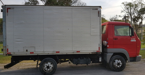 vw 5-140e  delivery 2007/2008 baú 4 metros