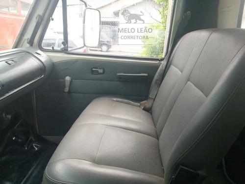 vw 6-90 - 85/85 - baú de alumínio c/ porta lateral, dh *