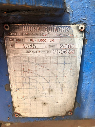 vw 8-150 worker ano 2000 c/ munck de 4 toneladas