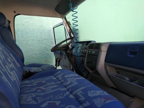 vw 8.120 baú aceito troca carro ou caminhão m.benz ford gm