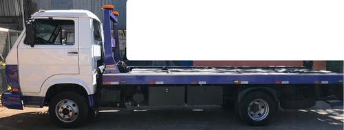 vw 8120 worker guincho plataforma com asa - baixo km - novo