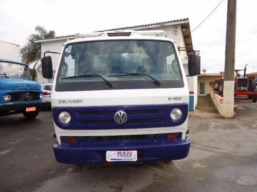 vw 8150, 2006, delivery, baú refrigerado -10