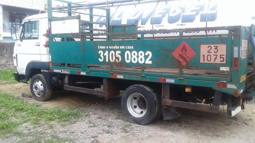 vw 8.160 carroceria de gás - gaiola