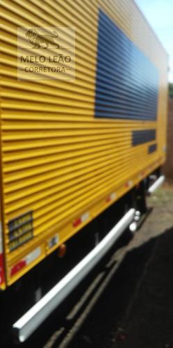 vw 9-160 delivery - 12/13 - baú c/ plataforma hidráulica