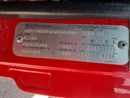 vw 9-160 delivery - 14/14 - baú facchini especial