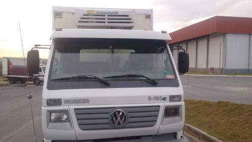 vw 9150 10/10 bau refrigerado com serviço novissimo confira