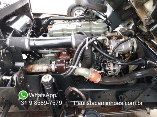 vw 9150 2011 bau refrigerado acoplado e eletrico tripartida
