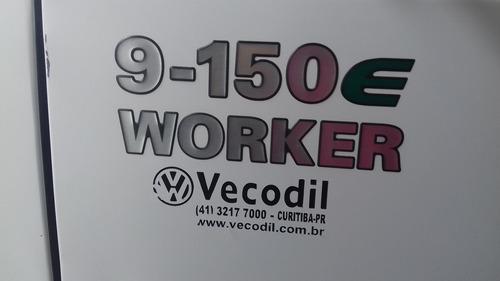 vw 9150 worker 2010 baú frigorífico padrão sadia 118 mil km