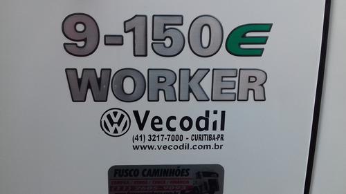 vw 9150 worker 2010 baú refrigerado padrão sadia novo