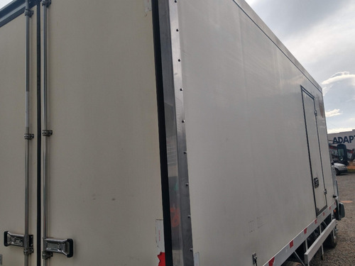 vw 9150/09 branco baú frigorifico