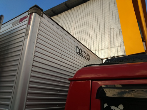 vw 9160 baú isotermico canaletado porta lateral