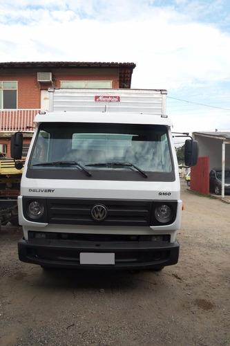 vw 9160 delivery c/ baú de 6 metros