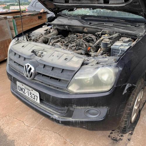 vw amarok bi turbo 180cv 2015 - sucata para retirar peças