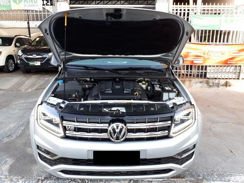 vw / amarok highline v-6 diesel garantia 2021 pneus novos