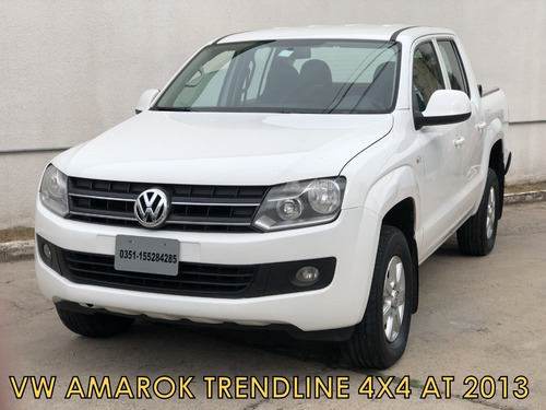 vw amarok trendline 2.0 4x4 at 2013 *financio *recibo menor*