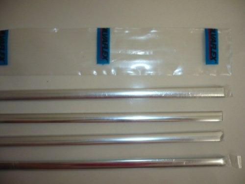 vw bora vira aluminio p/ bagueta de puerta delantera derecha walrod306