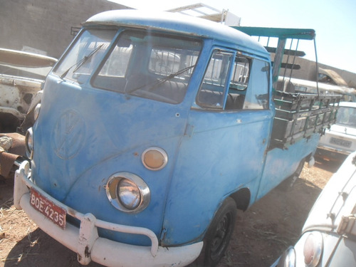 vw bus kombi 74 pick-up para restauro dock 2016 c/ motor