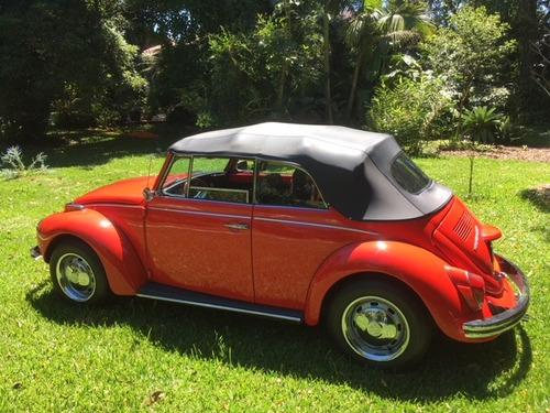 vw cabrio alemao original 72