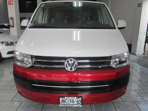 vw caravelle impecable 2014