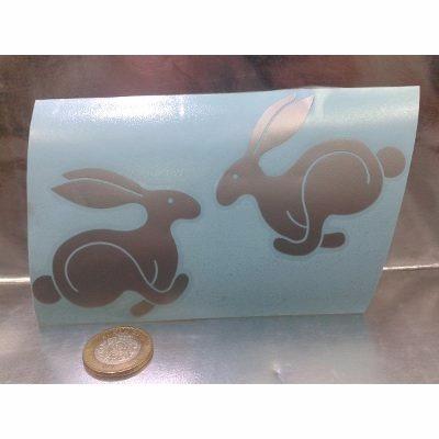 vw caribe cabriolet rabbit calcomania lateral plata