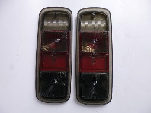vw combi 1973-79 par de micas humo nuevas calaveras mexico