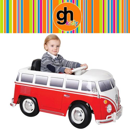 vw combi camioneta a bateria con control remoto bebesit gh