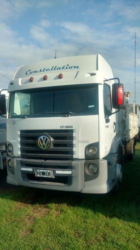 vw constellation 17250 con caja baranda volcable año 2009