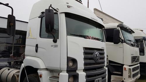 vw constellation 19.320 2011 tractor -entrega+cuotas- zacco