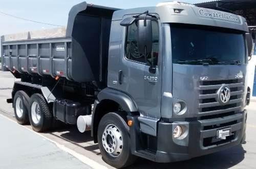 vw constellation 24280 truck caçamba iderol 12 mts 0km