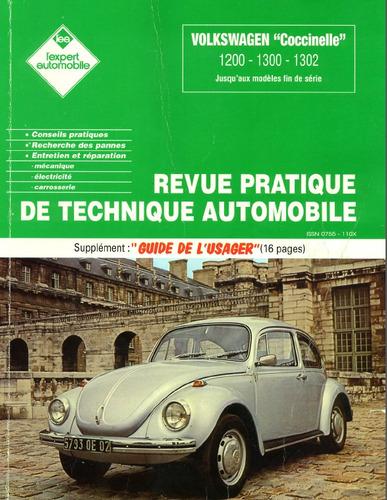 vw escarabajo + manual despiece y taller envio x mail