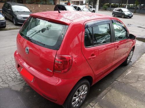 vw fox 1.0 gii 2012   vermelho