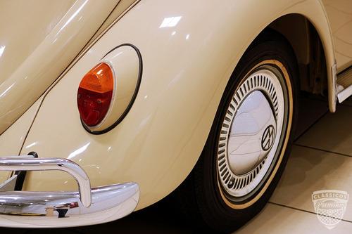 vw fusca 1200 - 1964 64 - original - impecável - placa preta