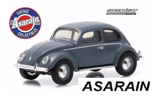 vw fusca 1950 split window motor world greenlight 1/64