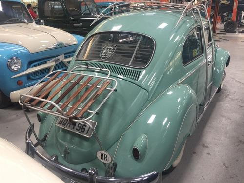 vw - fusca 1961 - raridade - verde