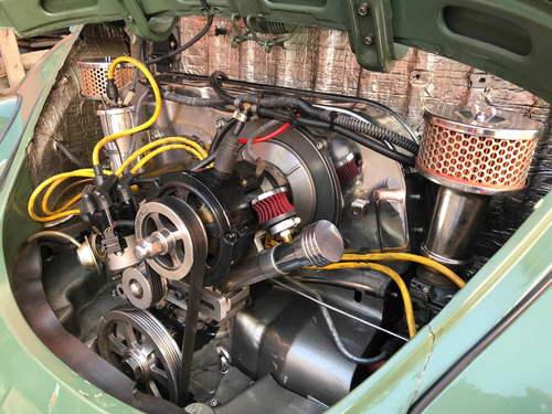 vw fusca 1969 1.7 garagem retrô