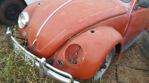 vw fusca 66 p/ restaurar pé de boi oval split window