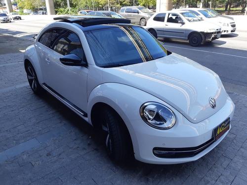 vw fusca tsi 2016/2015 branco top teto autom 13000 km