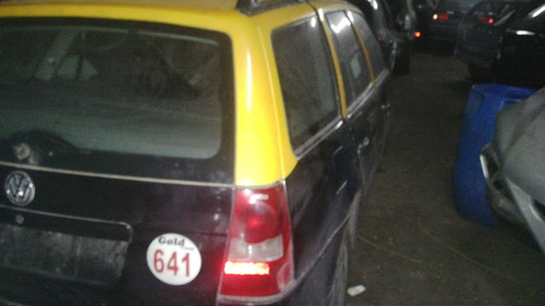 vw gol country ex taxi 1,6 / 2008 baja definitiva sin motor