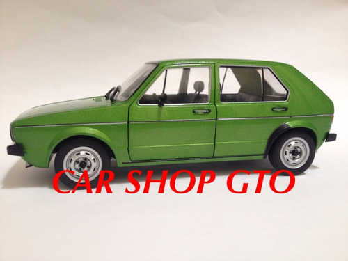 vw golf cl mk1 4 puertas marca solido escala 1:18
