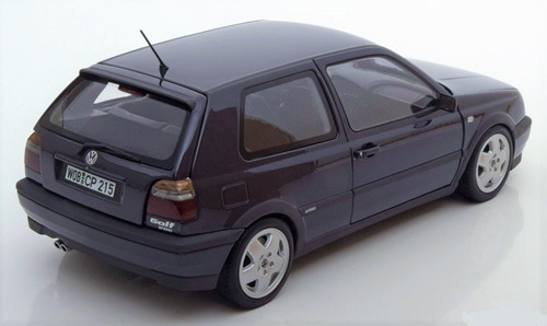 vw golf gti vr6 1996 a3 mk3 escala 1:18   norev