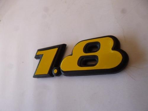 vw jetta o golf a3 1 8 emblema numero oem 93 99 amarillo en mercado libre. Black Bedroom Furniture Sets. Home Design Ideas
