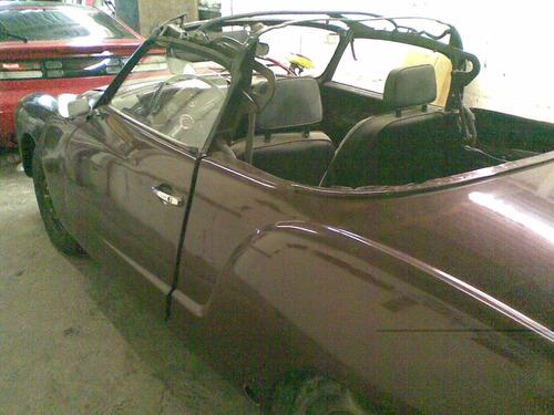 vw karmann ghia asientos 1969 - 1974 coupe o convertile