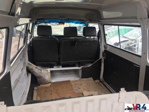 vw kombi 2008 1.4 sucata para retirada de peças